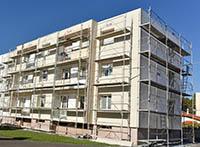 Le Ravalement Façade s'occupe aussi du bardage de façade à Roquefort-Les-Pins
